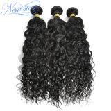 Выдвижение человеческих волос Unprocessed волны ранга 9A китайской естественной Weft