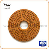 De grote Oppoetsende Stootkussens van de Hars van de Vloer van de Diamant van China van de Grootte voor het Marmer en de Steen van het Graniet