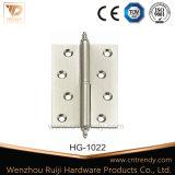 Ferragens de Canto, Levante a dobradiça de latão (HG-1024)