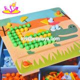 Más calientes de la nueva forma de animal varios puzzles educativos de madera para niños el desarrollo W14D031