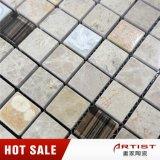 Mezcla de mármol del mosaico de cerámica y vidrio para la pared