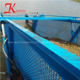 Coupe de mauvaises herbes aquatiques drague/ ordures navire de sauvetage pour le nettoyage de la rivière