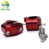 CNC die de Delen/de Toebehoren van het Metaal van het Aluminium voor de Klem van het Stuur van de Motorfiets machinaal bewerken