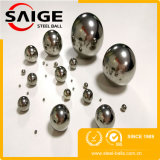 Bola de acero libre de carbón G100 de la muestra AISI1010 4.76m m para la diapositiva