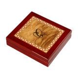 木の記念品のギフトの硬貨の包装ボックス