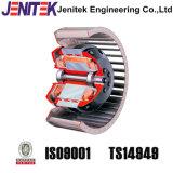 Motor de ventilador da ventilação de Pmsm para a exploração avícola 380V da galinha do porco do gado