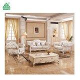 Neues klassisches ledernes Wohnzimmer-Sofa
