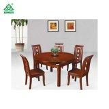 家具の木製のダイニングテーブルおよび椅子を食事する新しいデザイン