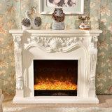 Cheminée électrique des meubles DEL de flamme de chaufferette moderne d'effet 3D