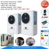 Amb. -20C выход 90град. C R134A+R410A 380 V отходов тепла высокой температуры водонагреватель со встроенным тепловым насосом для промышленности сухой