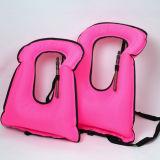 210 maglia di vita gonfiabile di sicurezza di nuotata TPU della presa d'aria di nylon del rivestimento del denaro per l'adulto