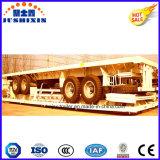 40FT 반 3axle 평상형 트레일러 트럭 트랙터-트레일러 또는 반 플래트홈 트레일러