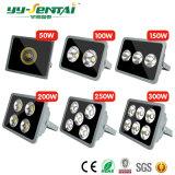 Alto brilho 50W-400W Projector LED de exterior com marcação CE