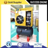 Air Receiver (5.5KW, 7bar)를 가진 움직일 수 있는 Screw Air Compressor