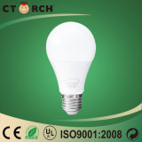 Alluminio diretto di disegno della fabbrica di Ctorch Cina nuovo con la lampadina LED della plastica 10W A60