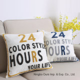La broderie lettres coussin Style /voiture/ Bureau de coussin coussin coussin /canapé cas