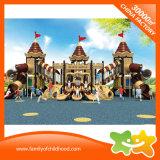 La plastica gigante della Camera del gioco dei giocattoli dei bambini di serie del castello fa scorrere per la vendita