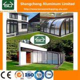 Edifício Exterior Sunroom vidro vidro temperado modernas casas com o calor/Som/à prova de água