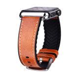 riem van de Vervanging van het Leer van 42mm de Hete Verkopende Italiaanse Echte voor Reeks 1 2 & 3 van het Horloge van de Appel
