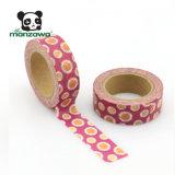 熱い販売の多彩なヒマワリの習慣はWashiテープを印刷した