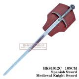 Decoração medieval Swords105cm HK81012c das espadas das espadas da película