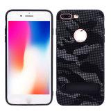 Tecido de camuflagem Cole Pele Caso Telefone para iPhone x
