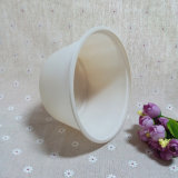Large Covered Disposable Soup Bowls Cornstarch Take Away Hot Soup Bowls
