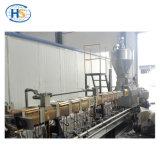 Machine en plastique en bois d'extrusion de granules du composé WPC