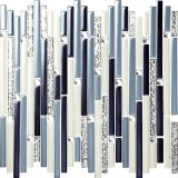 Prezzo delle mattonelle di mosaico di cristallo del mosaico di rettangolo