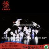 크리스마스 장식적인 빛을%s 다이아몬드 쉘 빛 끈을 꾸미는 LED