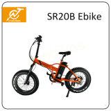 20*4.0 [350و] إطار العجلة سمين يطوي درّاجة كهربائيّة