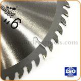 """9つの"""" 60tハードウェアのツールの円の炭化物の切断のディスクTctは木については鋸歯を"""