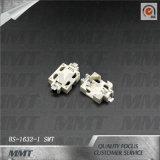Contenitore di batteria della cassetta portabatterie Cr1632 BS-1632-1 SMT