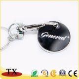Trousseau de clés de bonbons colorés pièce de métal de la chaîne de clé avec la conception personnalisée