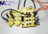 Коробка распределения разъема RF портов канала кабеля 4 M12 Profibus