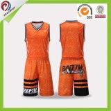 رياضة لباس عالة [سوبليمأيشنس] الصين مصنع كرة سلّة جرسيّ لأنّ عمليّة بيع
