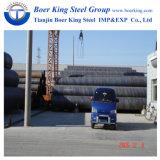 API 5L LSIP1 Q235B Q345b X42 X52 X65 tuyau en acier SSAW de tuyaux en acier