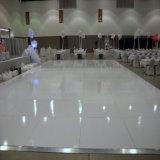 Noix en gros, contre-plaqué Polished de White& Balck 1m*1m Dance Floor pour la location