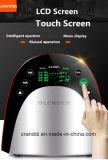スープとスムージーの混合機のための暖房の混合機LCDの接触混合機
