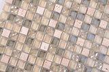 La decorazione 30*30 naturale della priorità bassa copre di tegoli il mosaico di pietra di vetro di marmo