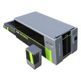 1000Wレーザー力のより高いレーザー力のファイバーの金属板の打抜き機