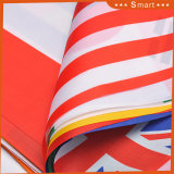 Flagge-Zeichenkette, die dekorative Großhandelsdreieck-Minimarkierungsfahnen-Nylonauto-Zeichenkette-Markierungsfahne bekanntmacht