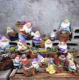Mini criativa Plantas Fadas Pot Flower Plantas suculentas recipiente bricolage
