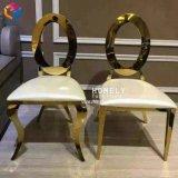 販売のためのスタックされたステンレス鋼のローズの金の結婚式の椅子
