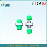 Nuevo tipo de adaptador descubierto óptico de la fibra del LC con RoHS obediente