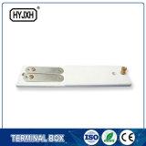Bride de bride de mètre électrique, plaque en plastique de conducteur