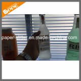 La impresora más nueva de la escritura de la etiqueta de la botella