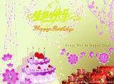 Productos de papel de la impresión, tarjeta de felicitación del regalo para el día de fiesta de Chirstmas del cumpleaños de la boda