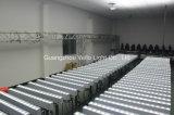 Pared de la colada de la luz de la etapa de la barra de Vello Rgbwauv 6in1 LED (LED Slimbar1661)