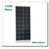sistema solar HOME mais barata do painel solar do preço 150W da mono